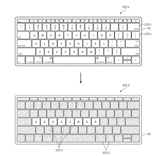 Macbook Pro potrebbe adottare una tastiera mutevole