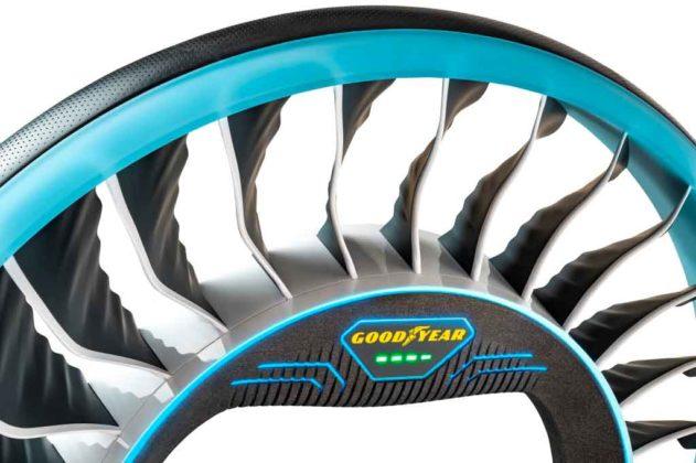 Goodyear AERO, pneumatico per… le auto volanti