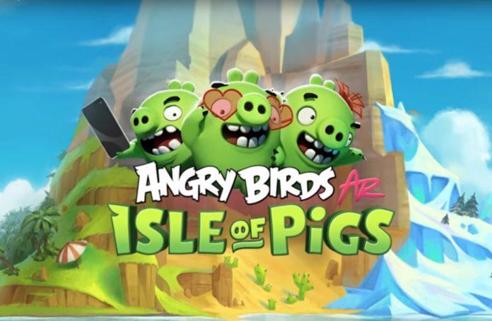 Angry Birds AR Isle of Pigs in realtà aumentata sarà esclusiva su iOS