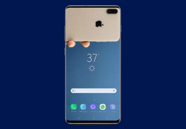 Ecco come iPhone XS rende perfetto un Galaxy S10+