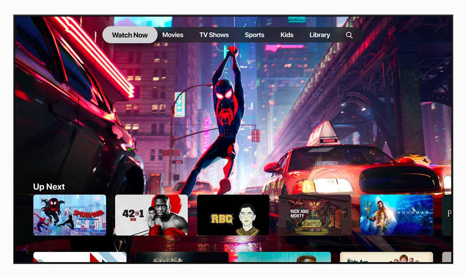 A partire da maggio, sarà possibile abbonarsi ai propri canali preferiti, scegliendoli tra gli Apple TV Channels, e guardarli nell'app Apple TV.