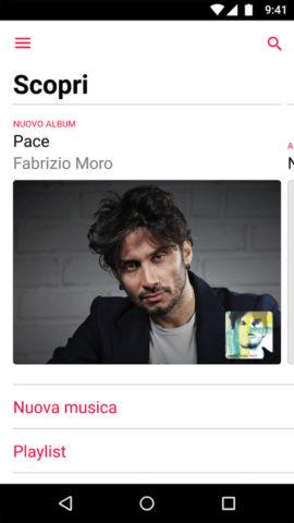 Apple Music per Android ora è su misura anche per Chromebook