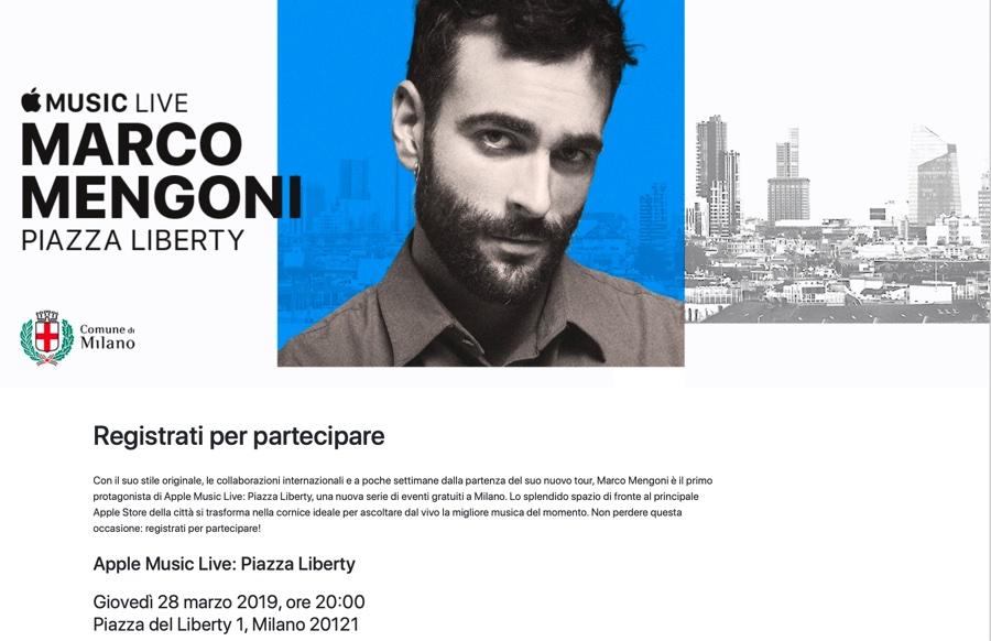 Apple regala concerti gratis con Apple Music Live Piazza Liberty a Milano