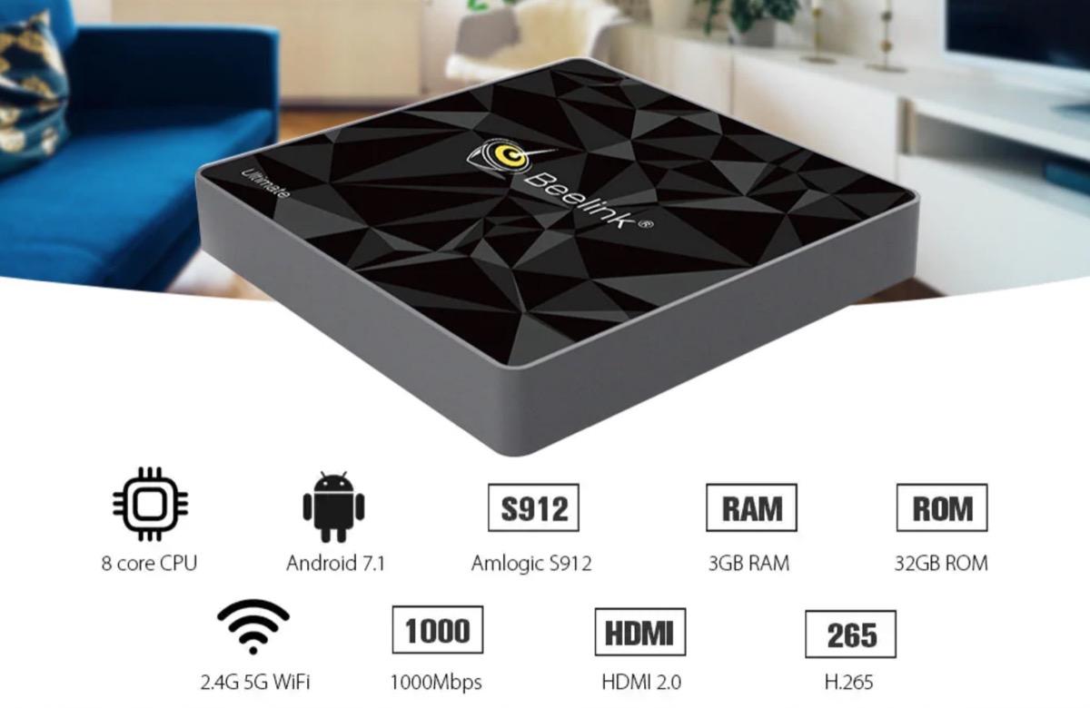 Beelink GT1, il box TV Android 4K che si controlla con la voce