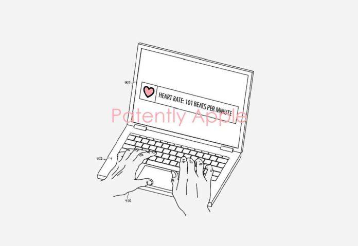 Brevetto MacBook con sensore biometrico