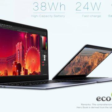 Chuwi Hero Book, il PC portatile che costa come uno smartphone economico