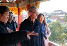 Tim Cook in Cina