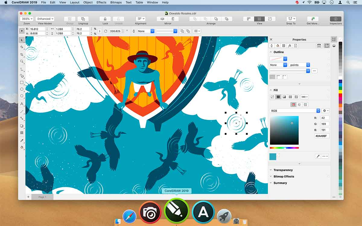 CorelDRAW ritorna su Mac
