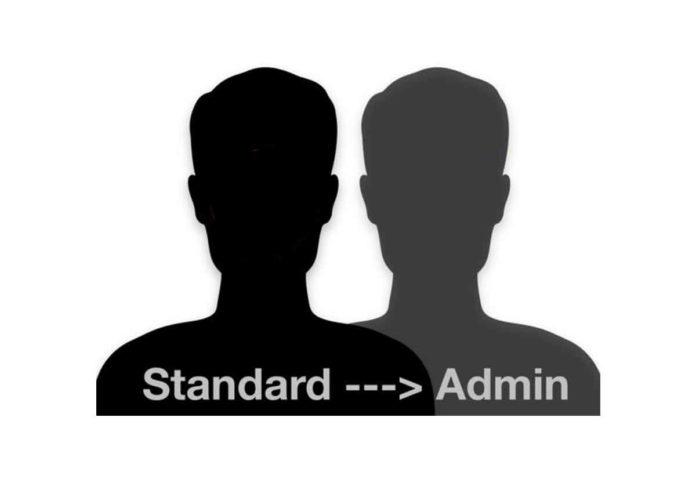 Da utente standard ad amministratore