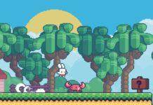 Yeah Bunny 2, uno splendido platform a un tocco solo