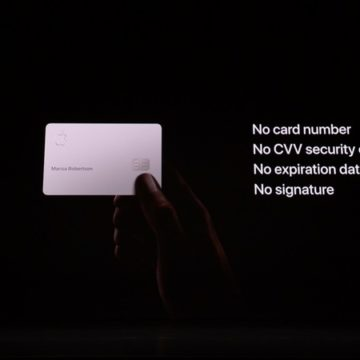 Apple Card è la nuova carta di credito di Apple