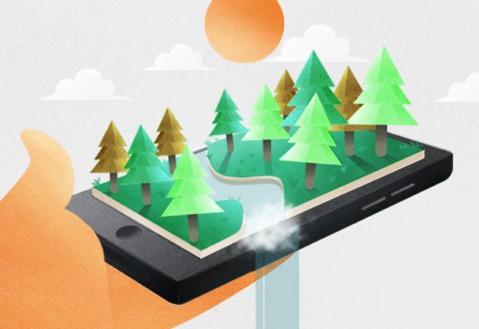 Forest, l'app per disintossicarsi dallo smartphone e salvare il pianeta