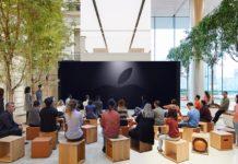 Come le finali di Champions, l'evento Apple 25 marzo si segue sul maxi schermo negli Apple Store
