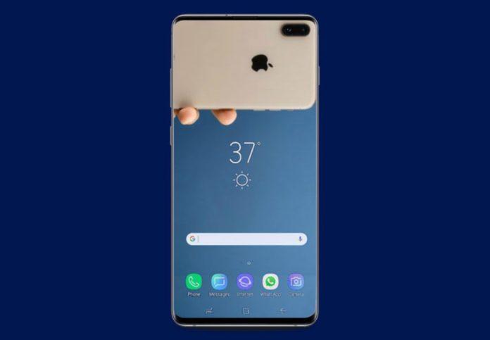 Samsung, lo schermo con il buco è solo temporaneo
