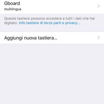 Gboard, la tastiera smart di Google per iPhone e iPad ora traduce in decine di lingue