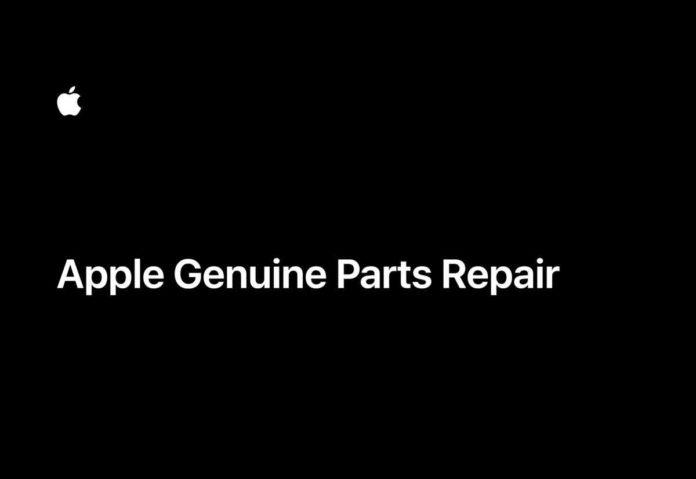 Apple Genuine Parts Repair