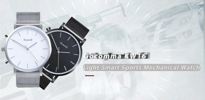 KW16, ecco lo smartwatch ibrido di Gocomma con autonomia di quasi due anni