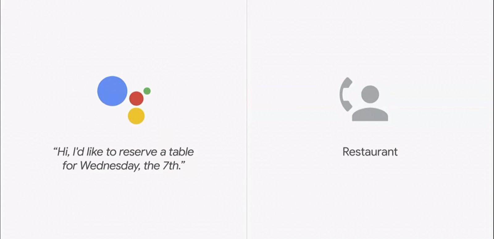 Google Duplex, le prenotazioni automatiche al ristorante in arrivo anche su iPhone