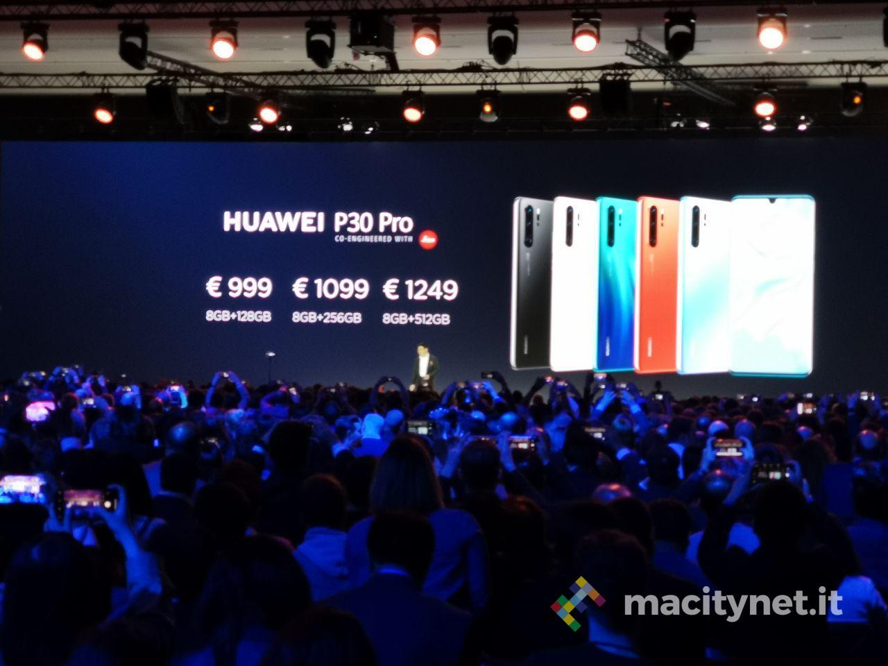 huawei p30 pro prezzi