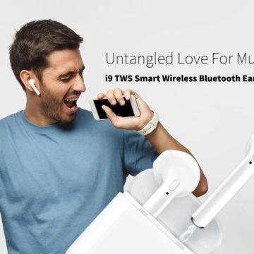 i9 TWS, le cuffie clone delle Apple AirPods che costano solo 12 euro