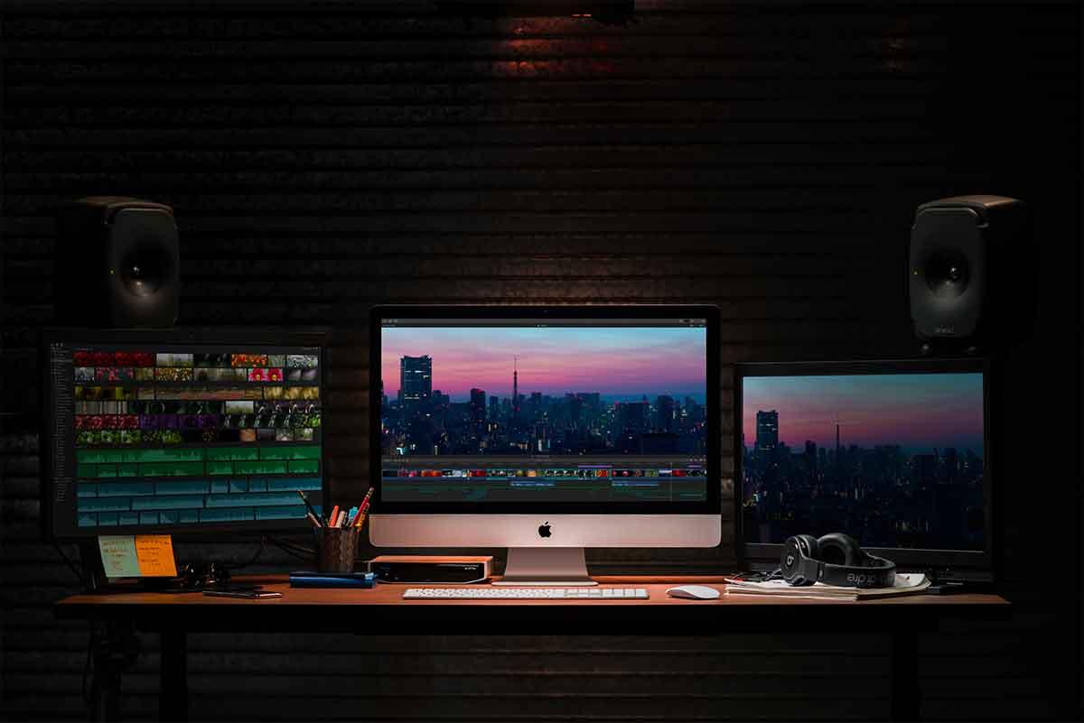 iccole imprese, uffici, home office: iMac è la scelta preferita dei professionisti e non solo.