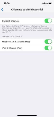 Come fare e ricevere chiamate iPhone con iPad