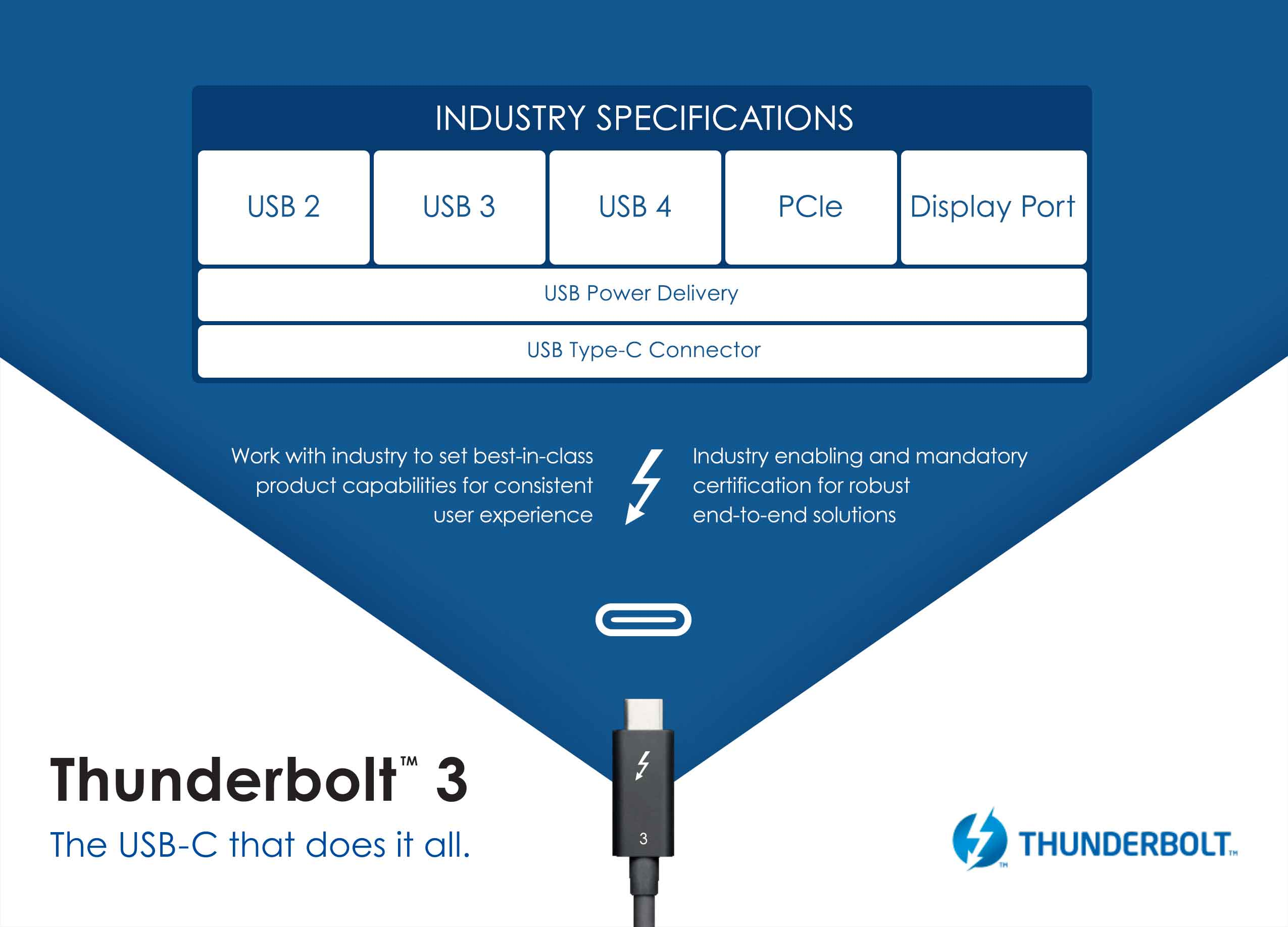 Thunderbolt e USB4
