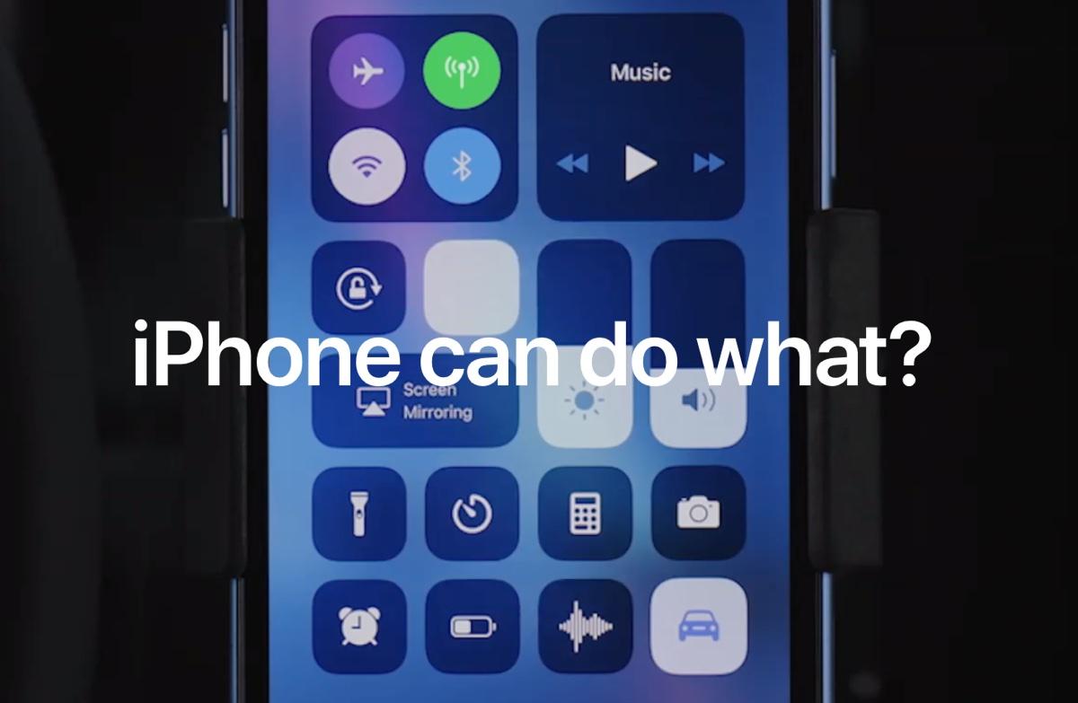 cosa può fare iPhone La campagna di Apple va dritta al punto