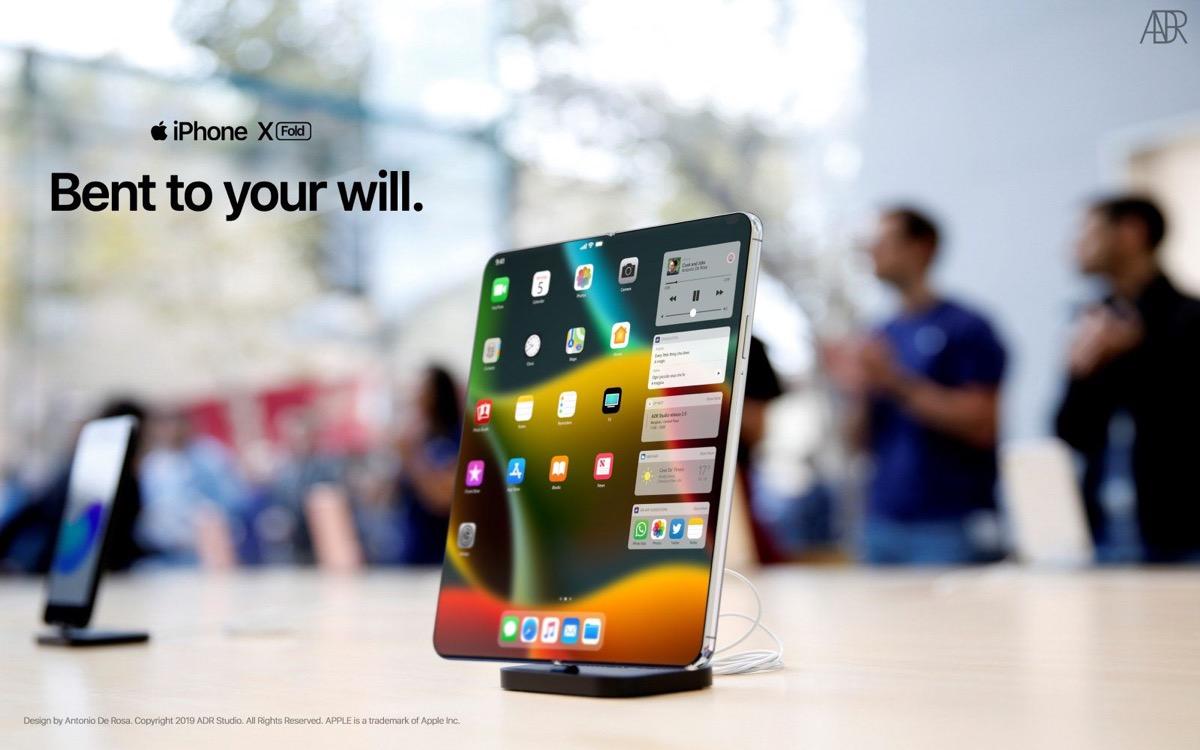 iPhone X Fold, in video l'iPhone pieghevole immaginato da un designer