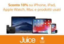 Juice compie 6 anni: sconto 10% su qualsiasi prodotto Apple e super sconti su tutto il resto