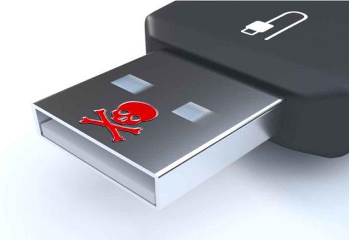 Chiavetta USB pericolosa