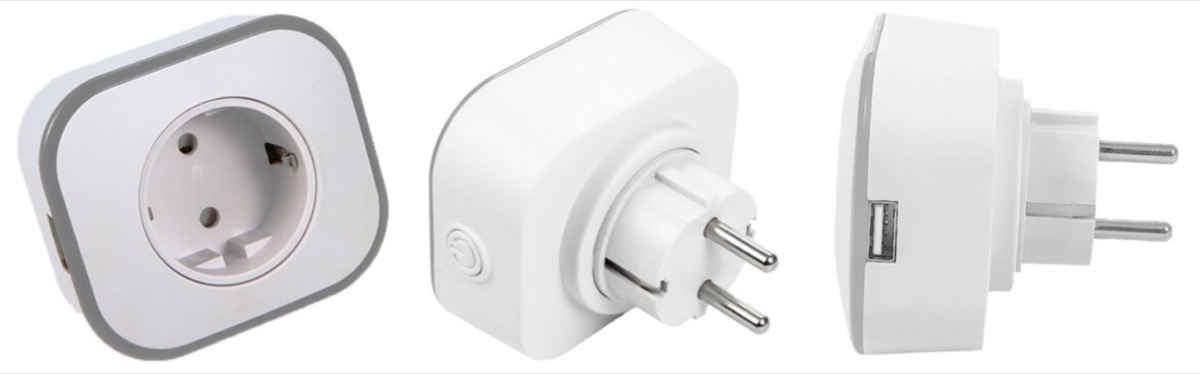 Presa Smart con USB e controllo vocale: tre a 27,49 euro