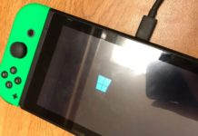 Windows 10 funziona su Nintendo Switch