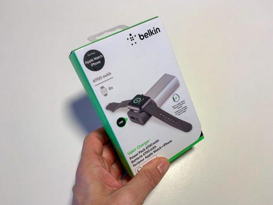 La scatola del Belkin Valet Charger Power Pack
