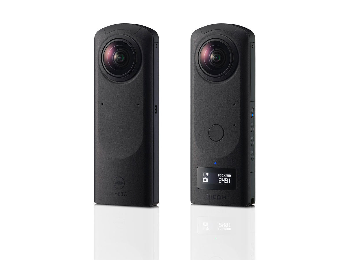 Ricoh THETA Z1, la fotocamera a 360° con 4K e formato RAW