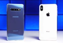 Il Samsung Galaxy S10 vs iPhone