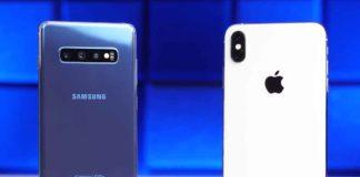 Il Samsung Galaxy S10 vs iPhone