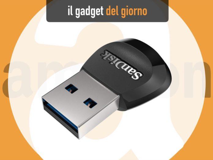 SanDisk MobileMate, il lettore microSD per porte USB