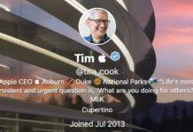 Tim Cook cambia il suo profilo Twitter in Tim Apple