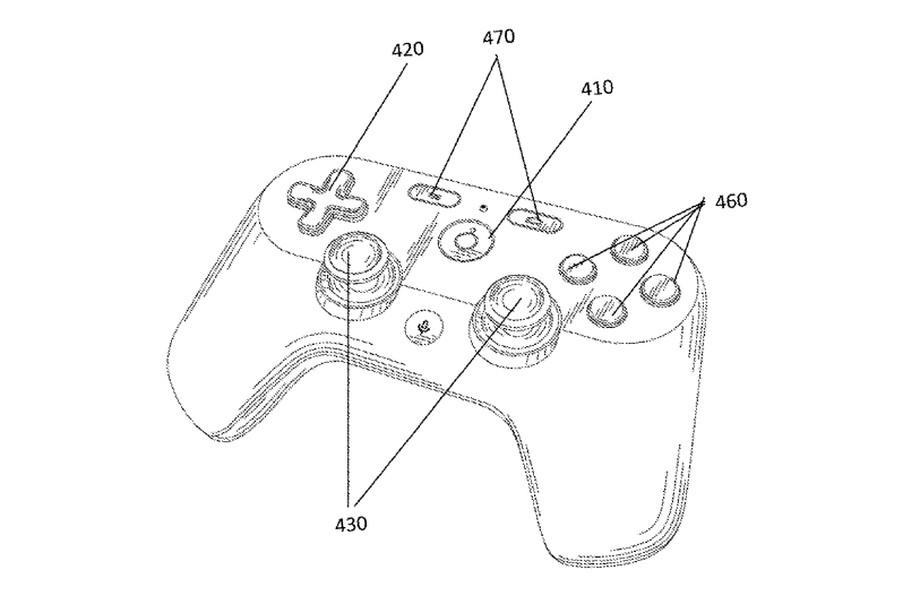 Ecco il pad per il servizio giochi streaming di Google