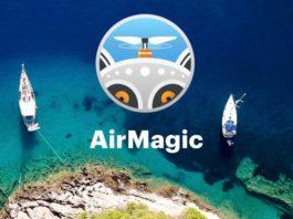 Recensione AirMagic, l'app che trasforma le foto dal drone in un click