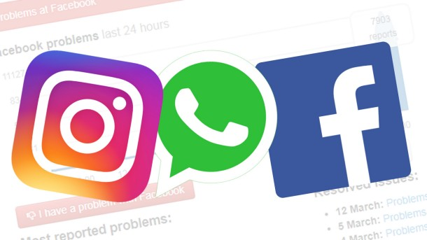 Facebook, Instagram e WhatsApp fuori uso per molti utenti, il problema sta rientrando