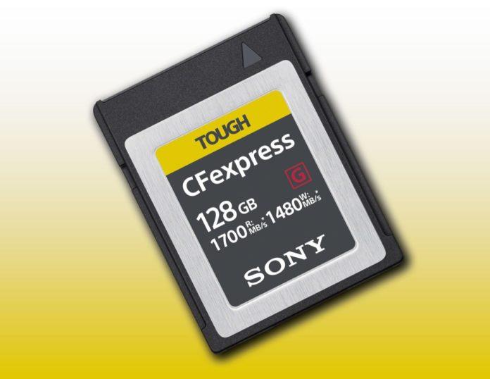 CFExpress, le nuove Compact Flash di Sony hanno velocità da urlo