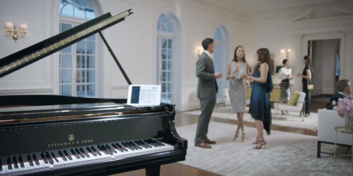 Steinway Spirio R, il pianoforte a coda che suona con iPad