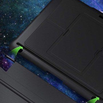 Inateck KB02008, cover-tastiera retroilluminata per iPad 9,7''