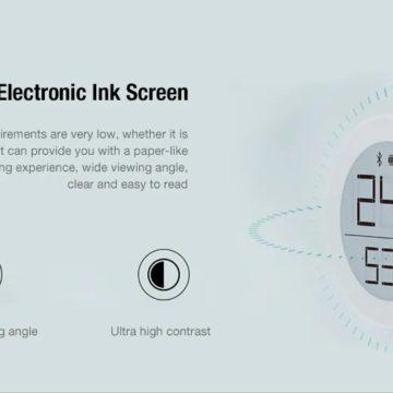 Da Xiaomi un comodo ed termometro igrometro Bluetooth portatile in offerta lampo
