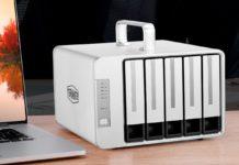 TerraMaster D5 Thunderbolt 3, recensione del piccolo grande case professionale