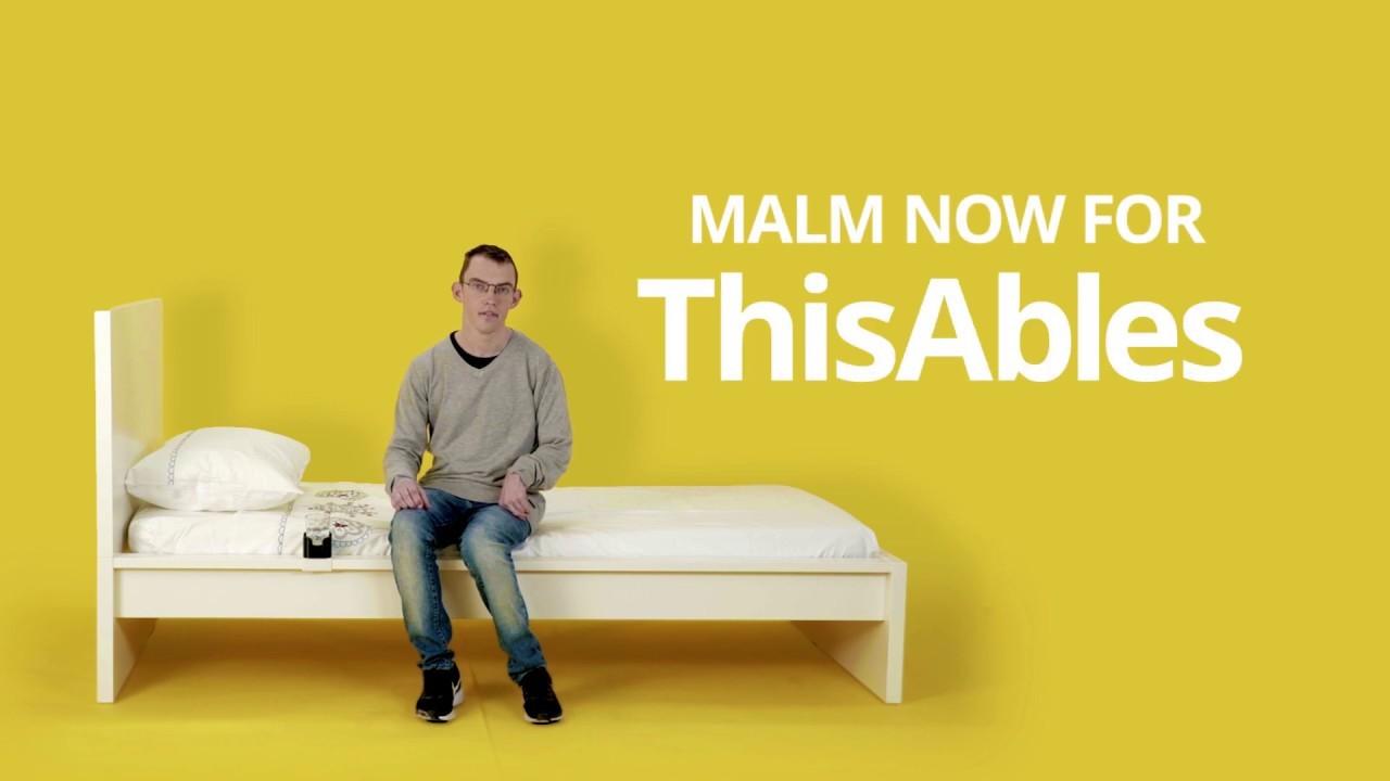 Ikea, una casa più accessibile ai disabili grazie a tecnologia e interior design con This Ables
