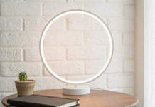 Utorch R9, la lampada da salotto che crea un cerchio di luce