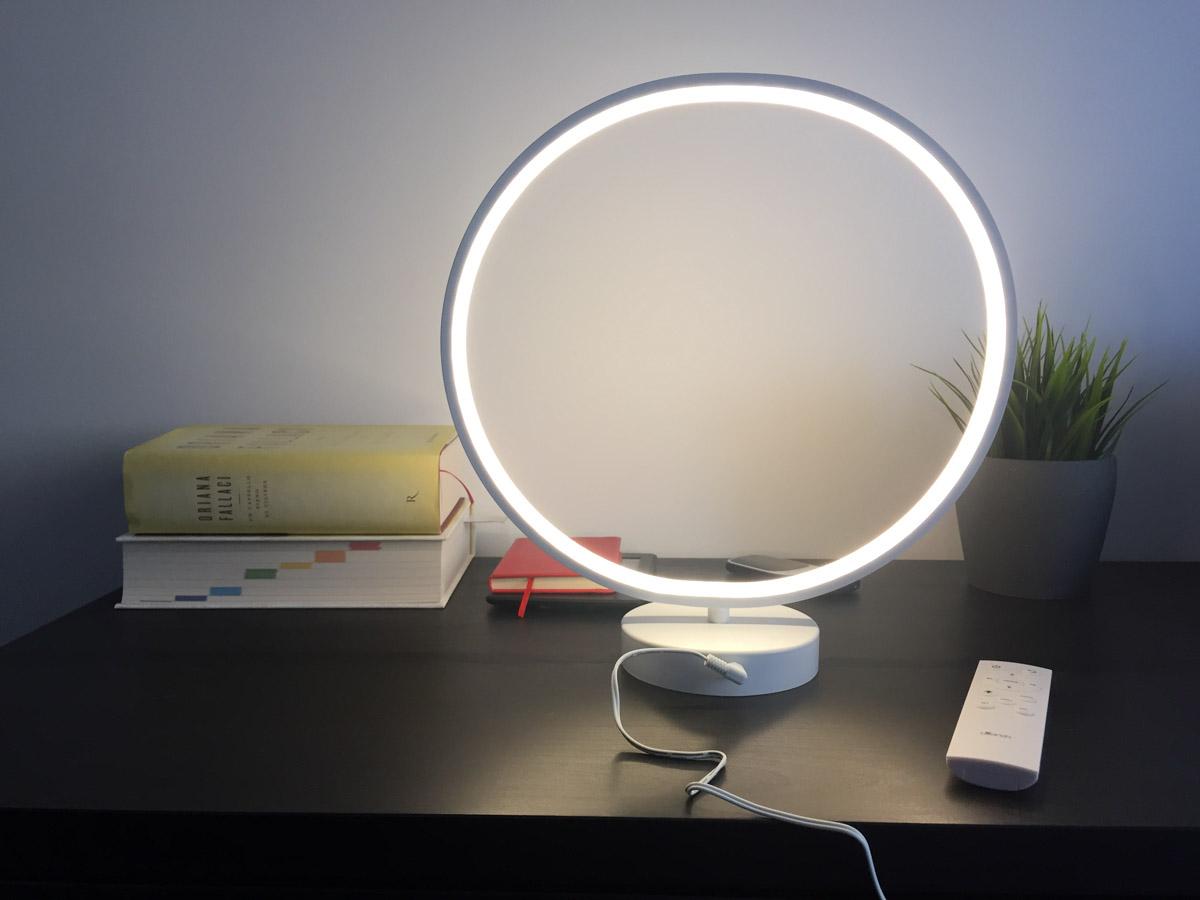 Recensione utorch r9 la lampada led che crea cerchi di luce